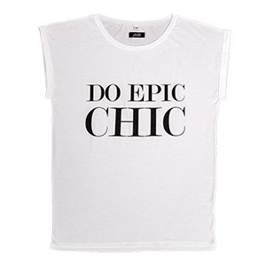 DO EPIC CHIC, bijela